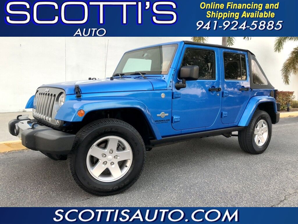 2014 Jeep Wrangler Unlimited Freedom Edition~ 4x4~ AWESOME COLOR~ 4 DOOR~ Sarasota FL