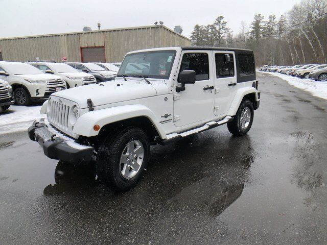 2014 Jeep Wrangler Unlimited Freedom Edition Claremont NH
