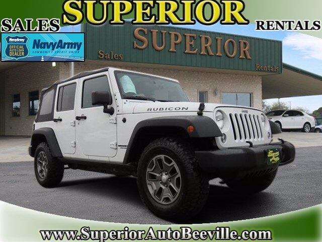 2014 Jeep Wrangler Unlimited Rubicon Beeville TX