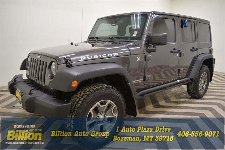 2014 Jeep Wrangler Unlimited Rubicon Bozeman MT