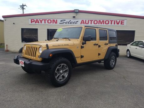 2014 Jeep Wrangler Unlimited Rubicon Heber Springs AR