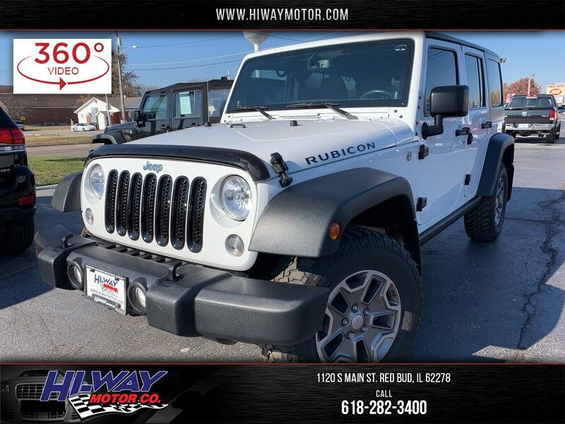 2014 Jeep Wrangler Unlimited Rubicon Red Bud IL