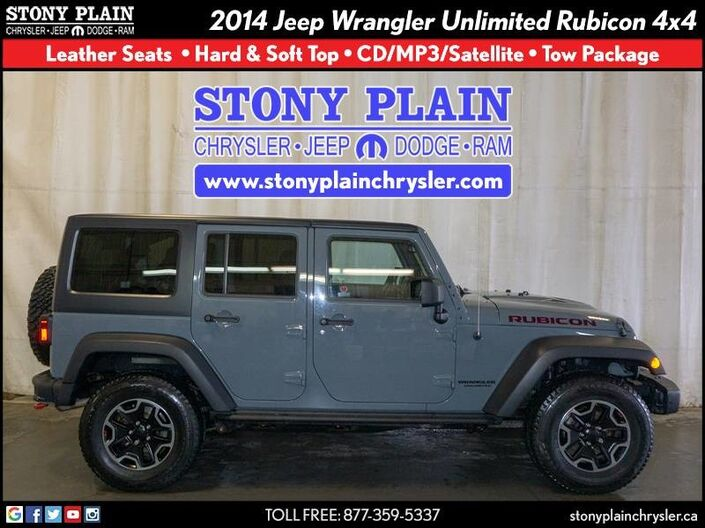 2014 Jeep Wrangler Unlimited Rubicon Stony Plain AB