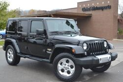Jeep Wrangler Unlimited Sahara/1 Owner Local Vehicle/4X4/New Oversized AT Tires/Navigation/Rear View Camera/Color Matching Hardtop&Fender-Flares/Heated Leather/Automatic/Running Boards/Nice! 2014