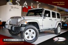 2014 Jeep Wrangler Unlimited Sahara 3 Pc Hard Top Nav, Leather Max Tow Pkg