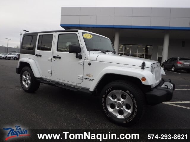 2014 Jeep Wrangler Unlimited Sahara 4WD Elkhart IN