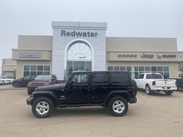 2014 Jeep Wrangler Unlimited Sahara 4X4 - Automatic - Leather - NAV Redwater AB