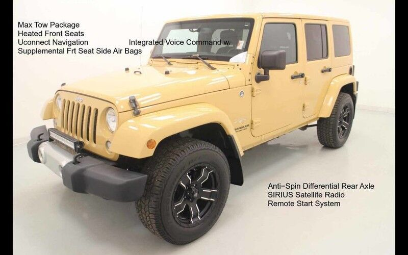 2014 Jeep Wrangler Unlimited Sahara 4X4 Bonner Springs KS