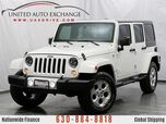 2014 Jeep Wrangler Unlimited Sahara 4wd with Navigation