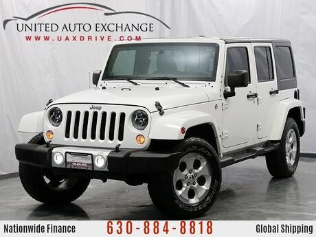 2014 Jeep Wrangler Unlimited Sahara 4wd with Navigation Addison IL