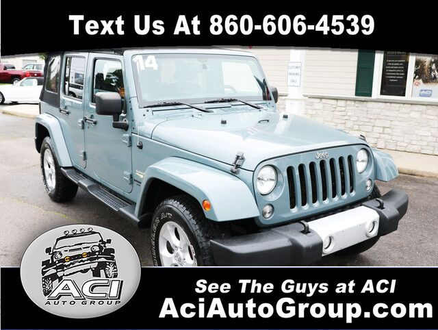 2014 Jeep Wrangler Unlimited Sahara East Windsor CT