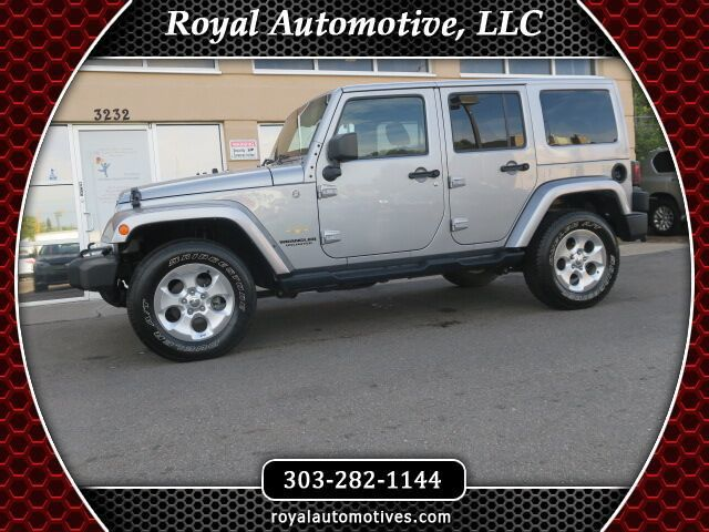 2014 Jeep Wrangler Unlimited Sahara Englewood CO