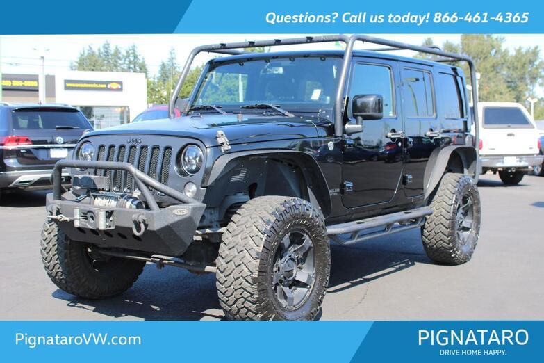 2014 Jeep Wrangler Unlimited Sahara Everett WA
