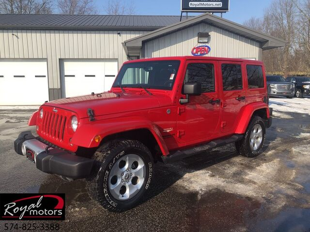 2014 Jeep Wrangler Unlimited Sahara Middlebury IN