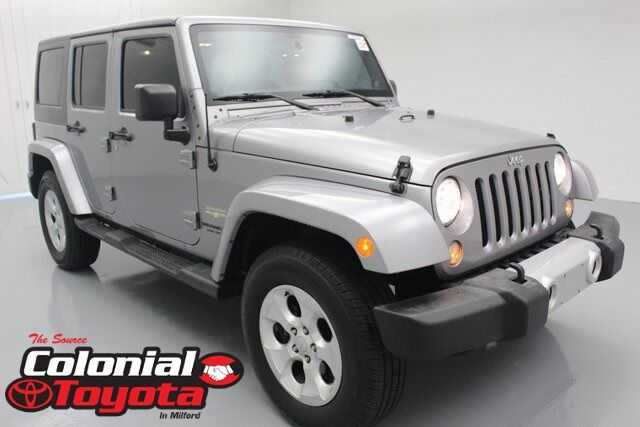 2014 Jeep Wrangler Unlimited Sahara Milford CT