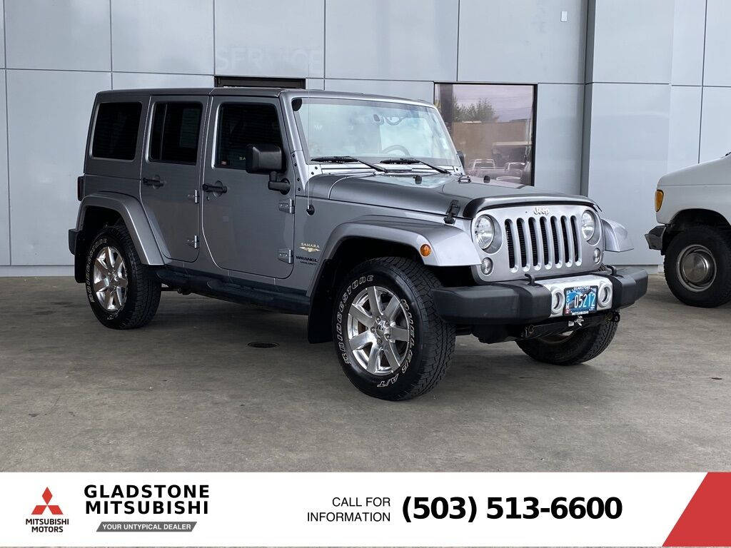 2014 Jeep Wrangler Unlimited Sahara Milwaukie OR