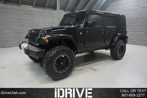 2014 Jeep Wrangler Unlimited Sahara Orem UT