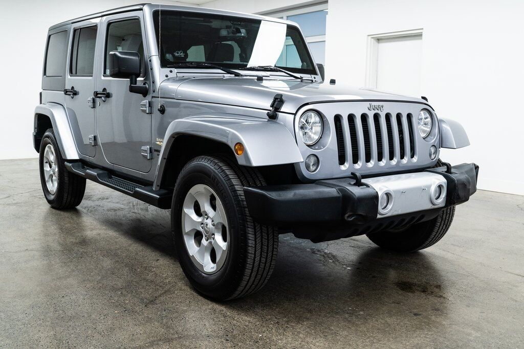 2014 Jeep Wrangler Unlimited Sahara Portland OR