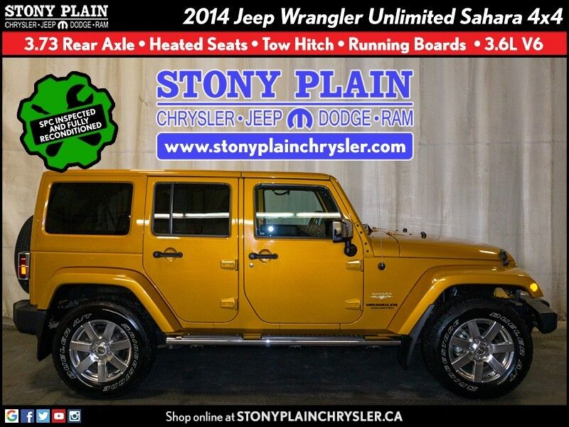 2014 Jeep Wrangler Unlimited Sahara Stony Plain AB
