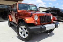 2014_Jeep_Wrangler Unlimited_Sahara,HARD TOP,MANUAL SHIFT,DUAL DVD!_ Houston TX
