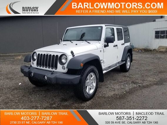 2014_Jeep_Wrangler Unlimited_Sport_ Calgary AB