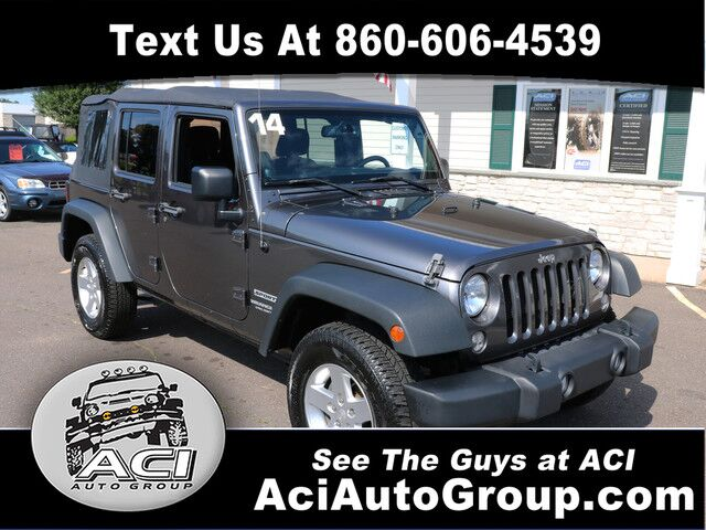 2014 Jeep Wrangler Unlimited Sport East Windsor CT