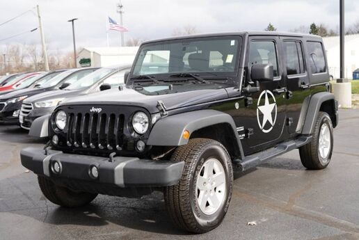 2014 Jeep Wrangler Unlimited Sport Fort Wayne Auburn and Kendallville IN