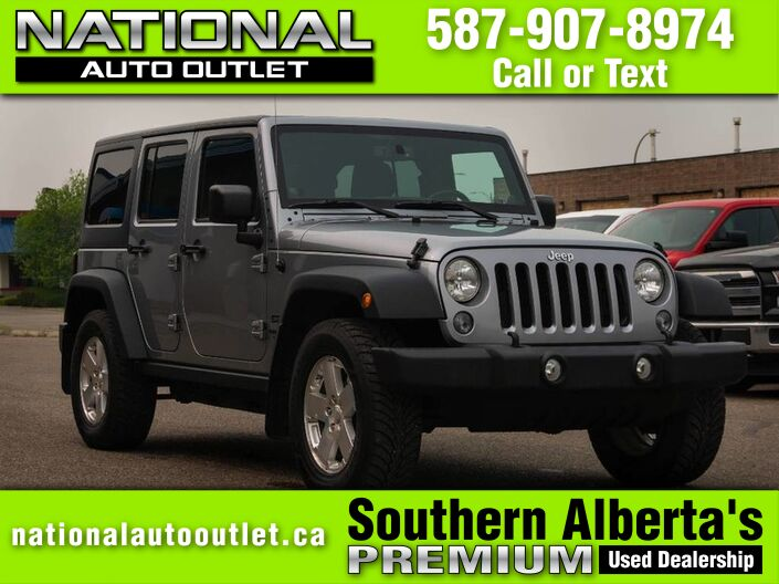2014 Jeep Wrangler Unlimited Sport Lethbridge AB