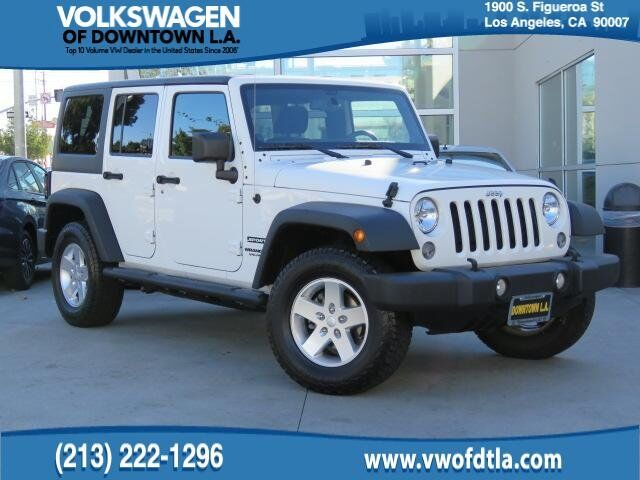 2014 Jeep Wrangler Unlimited Sport Los Angeles CA