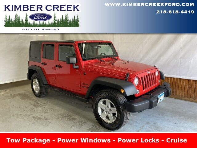2014 Jeep Wrangler Unlimited Sport Pine River MN