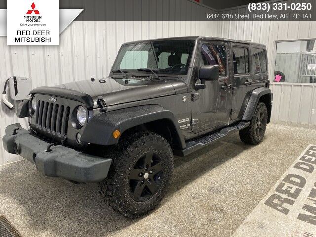 2014 Jeep Wrangler Unlimited Sport Red Deer County AB