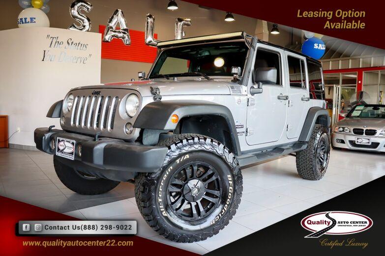 2014 Jeep Wrangler Unlimited Sport Springfield NJ