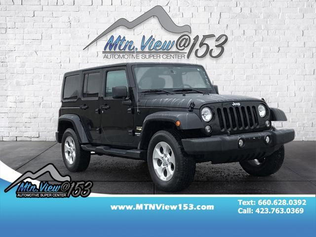 2014 Jeep Wrangler Unlimited Unlimited Sahara Chattanooga TN