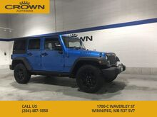 2014_Jeep_Wrangler Unlimited_Willy's Edition ** 4x4 ** Touchscreen** Off-road Rated Tires**_ Winnipeg MB