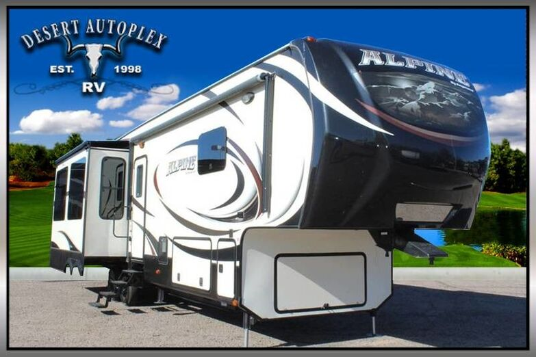 2014 Keystone Alpine 3600RD Triple Slide 5th Wheel RV Treated w/Cilajet Anti-Microbial Fog Mesa AZ