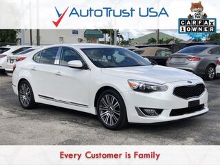Kia Cadenza Premium 1 OWNER CLEAN CARFAX NAV BACKUP CAM LOW MILES 2014