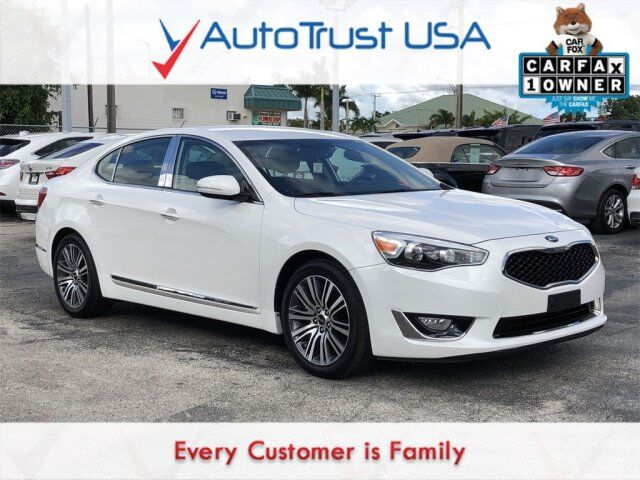 2014 Kia Cadenza Premium 1 OWNER CLEAN CARFAX NAV BACKUP CAM LOW MILES Miami FL