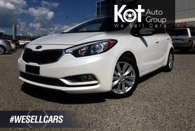 2014 Kia Forte 5-Door LX+, Sunroof, Heated Seats, Air conditioning, Cruise Control. Kelowna BC