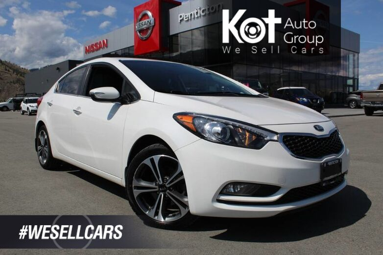 2014 Kia Forte EX, No Accidents, Heated Front Seats Kelowna BC