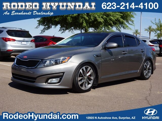 2014 Kia Optima 4d Sedan SX Turbo Surprise AZ