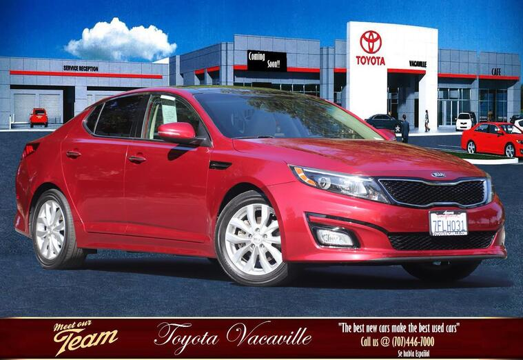 2014 Kia Optima Ex Sedan Vacaville CA