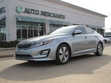 2014_Kia_Optima Hybrid_EX 2.4L 4CYL AUTOMATIC, BLUETOOTH CONNECTION, LEATHER SEATS, HEATED/COOLED FRONT SEATS_ Plano TX