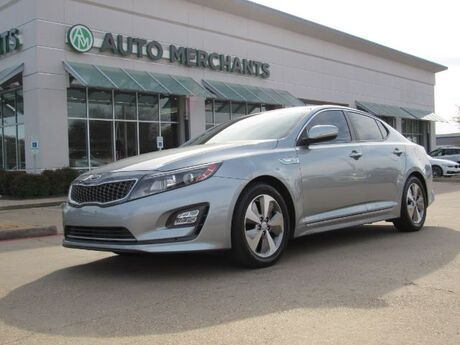 2014 Kia Optima Hybrid EX 2.4L 4CYL AUTOMATIC, BLUETOOTH CONNECTION, LEATHER SEATS, HEATED/COOLED FRONT SEATS Plano TX