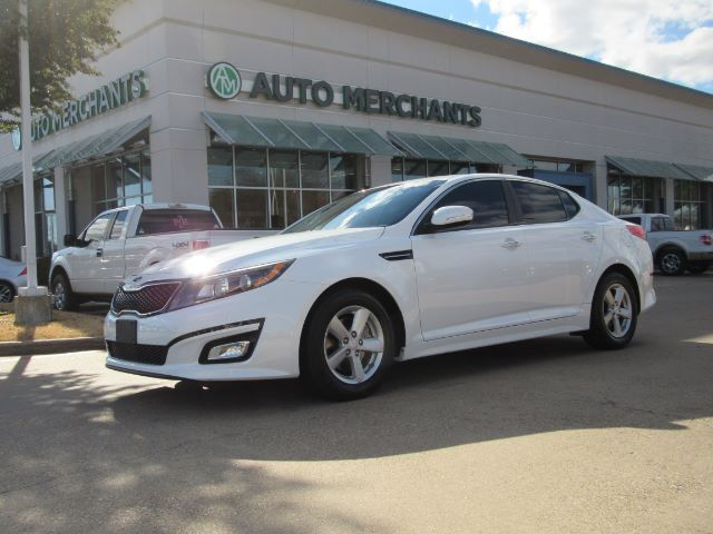 2014 Kia Optima LX 2.4L, 4 CYLINDER, AUTOMATIC, AUXILIARY INPUT, BLUETOOTH, SATELLITE RADIO, AUTOMATIC HEADLIGHTS Plano TX