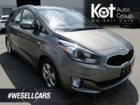 Kia RONDO LX! 1 OWNER! LOCALLY OWNED! SERVICED HERE! BLUETOOTH! HEATED SEA 2014