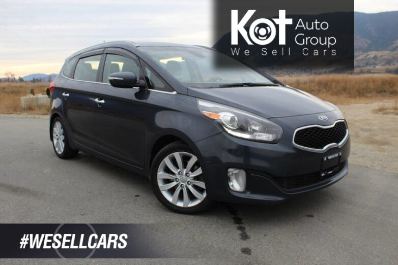 2014 Kia Rondo EX Luxury, Clean Carfax, Leather, 3rd row **Clear Out Price** Penticton BC