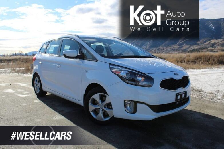 2014 Kia Rondo LX, No Accidents, 3rd Row Seating Kelowna BC