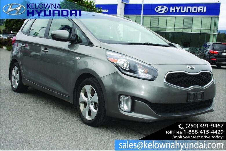2014 Kia Rondo LX w/3rd Row No accident,Heated seats, Bluetooth, Alloy wheels. Kelowna BC
