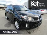2014 Kia Sorento LX! AWD! LEATHER! 1 OWNER! ONLY HWY KMS! SUPER CLEAN UNIT!