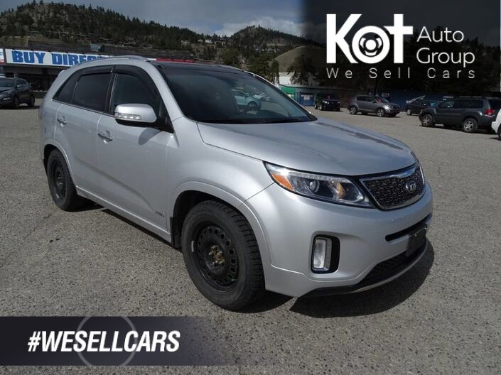 2014 Kia Sorento SX, No Accidents! Heated Leather Seats, Navigation, Extra Set of Tires Kelowna BC